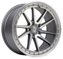 "Felgi aluminiowe 19"" 59 North Wheels S-001 19x9,5 ET40 5x108 Matte gunmetal"