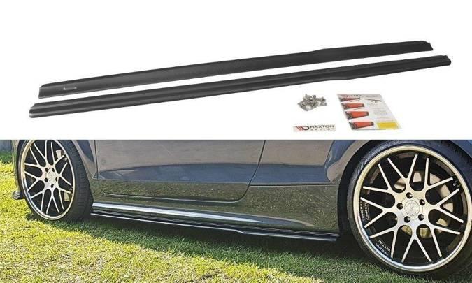 Dokładki progów Maxton Audi TT S / TT S-Line 8J (carbon look)