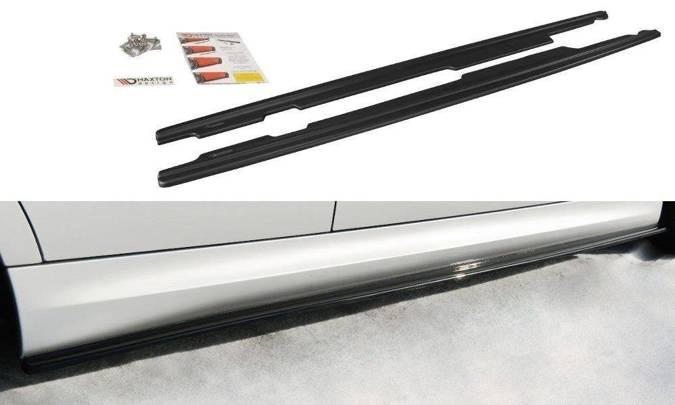 Dokładki progów Maxton BMW 3 E90/91 M-Pack (carbon look)
