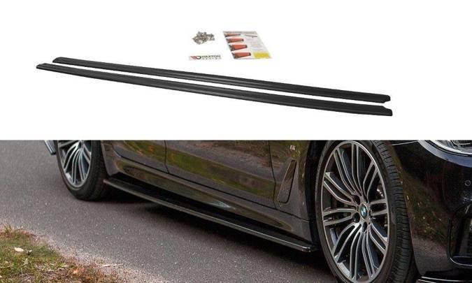 Dokładki progów Maxton BMW 5 G30 / G31 M-Pack (czarny połysk)