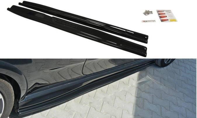 Dokładki progów Maxton Fiat Punto Evo Abarth (carbon look)