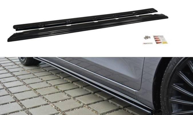 Dokładki progów Maxton Hyundai i30 MK2 (czarny połysk)