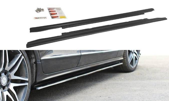 Dokładki progów Maxton Mercedes CLS C218 (czarny mat)