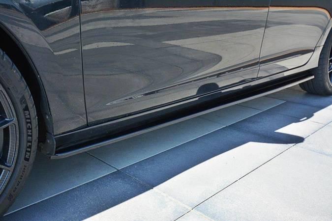 Dokładki progów Maxton Volvo V60 Polestar Polift (czarny mat)