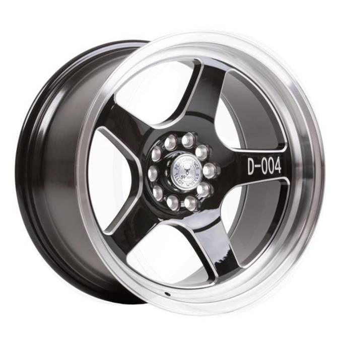 "Felgi aluminiowe 17"" 59 North Wheels D-004 17x8,5 ET10 5x114,3/120 Gloss black/polished"