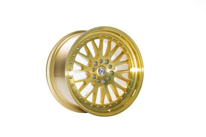 "Felgi aluminiowe 18"" 59 North Wheels D-003 18x9,5 ET20 5x114,3/120 Hyper Gold"