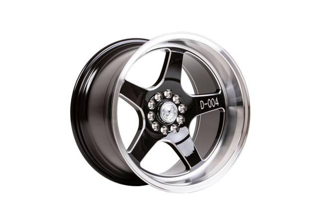 "Felgi aluminiowe 18"" 59 North Wheels D-004 18x11 ET15 5x114,3/120 Gloss black/polished"