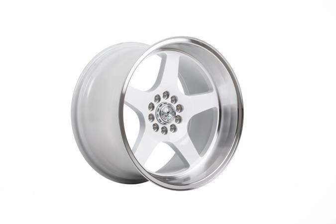 "Felgi aluminiowe 18"" 59 North Wheels D-004 18x11 ET15 5x114,3/120 White/polished"