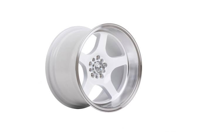 "Felgi aluminiowe 18"" 59 North Wheels D-004 18x9,5 ET20 5x100/108 White/polished"