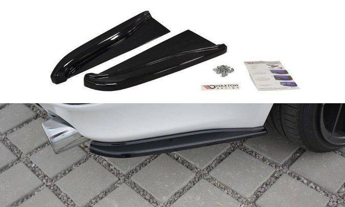 Splittery tylne boczne Maxton Lexus IS MK2 (czarny połysk)